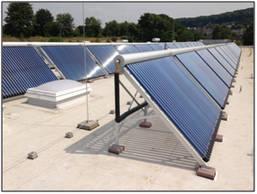 Hauptfeuer- u. Rettungswache Hattingen mit solarthermischer Großanlage